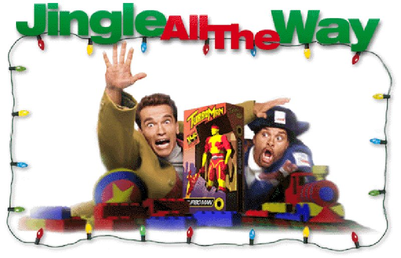 jingle all the way vsade same zvonceky